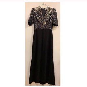 New $650 Badgley Mischka Sequin Dress